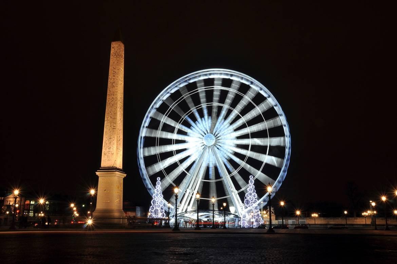 Grande roue de la place de la Concorde