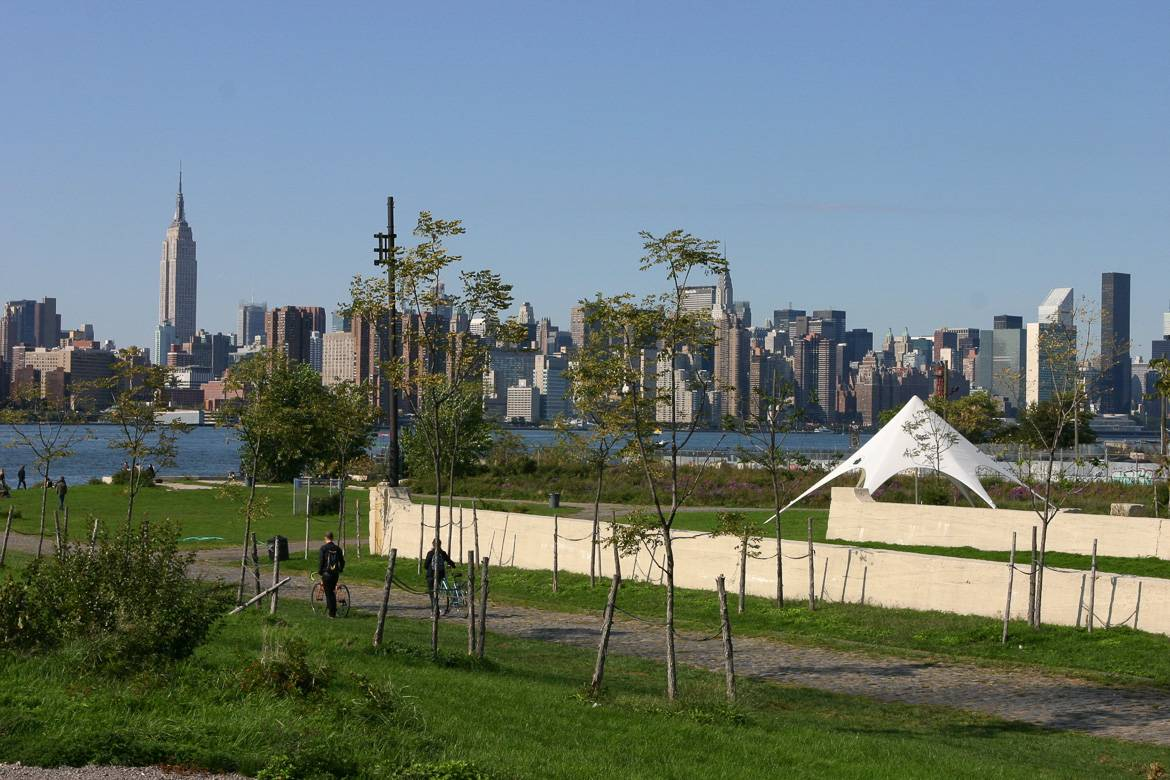 Photo de l'East River Park à Williamsburg