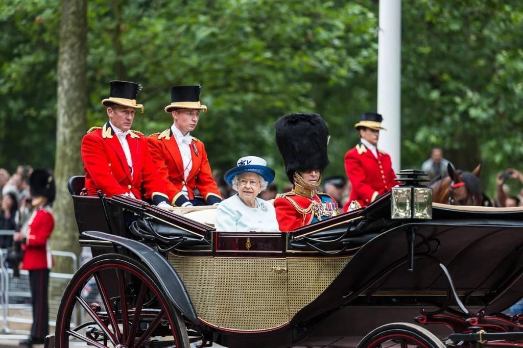 photo de la cérémonie Trooping the Colour