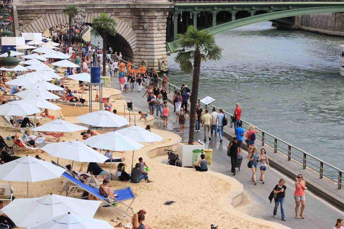 photo de Paris Plages