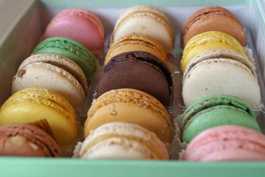 Photo de macarons