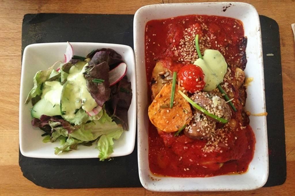 Photo des lasagnes aux légumes