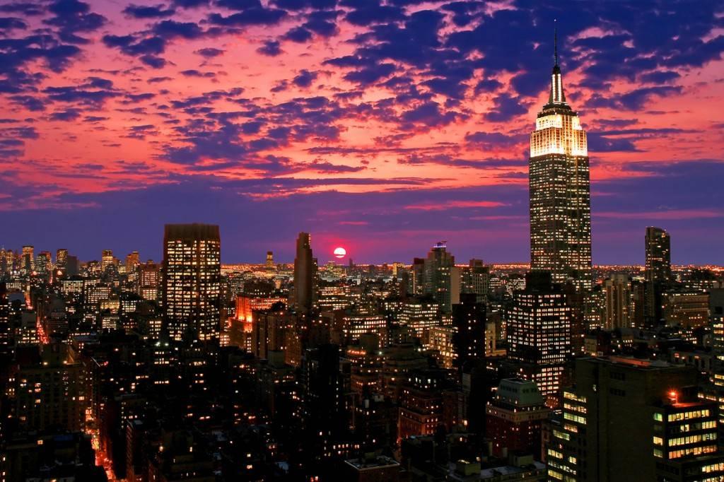 Photo de la vue depuis l'Empire State Building