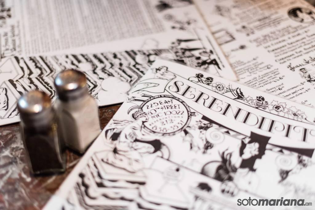 Photo du menu de Serendipity 3