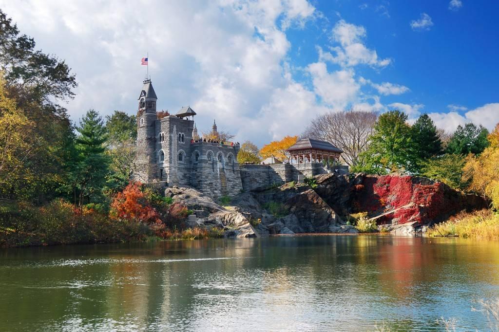 Photo du château du Belvédère à Central Park