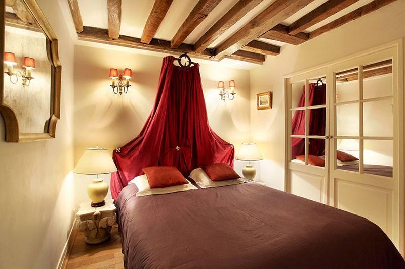 Photo de la première chambre