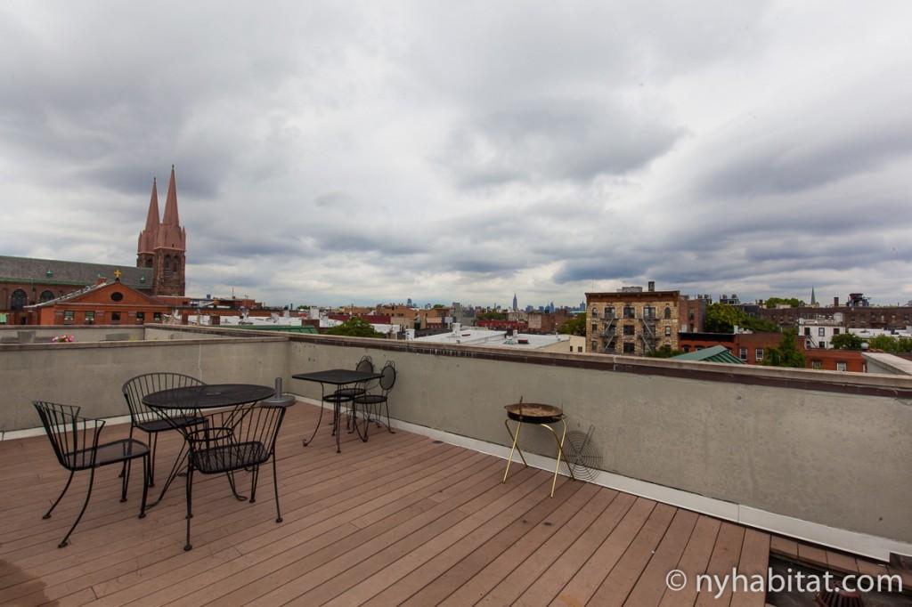 Photo de la terrasse de l'appartement NY-16516