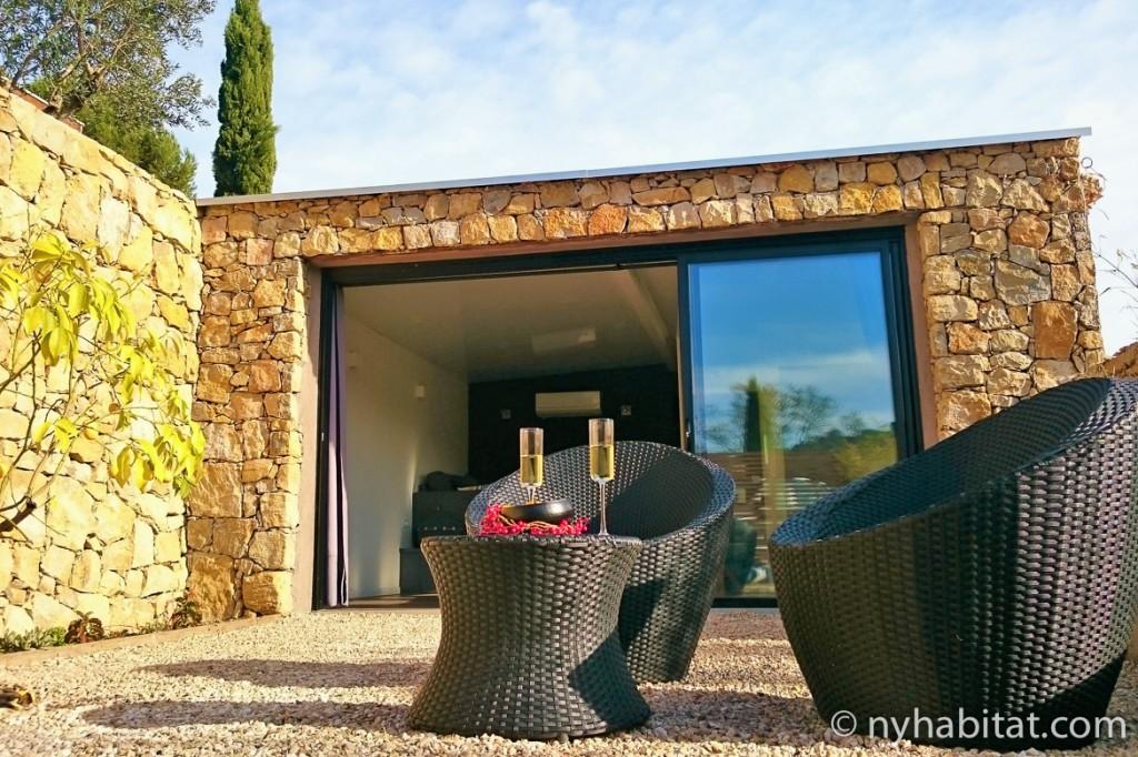 Photo de la terrasse de l'appartement PR-1224
