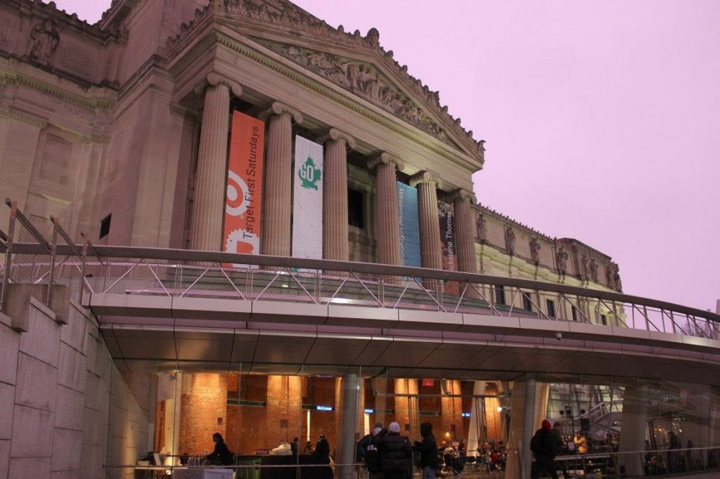 Photo de l'extérieur du Brooklyn Museum