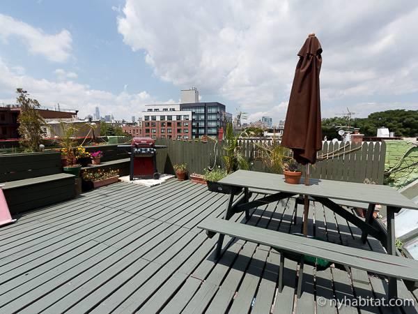 Photo du toit-terrasse de l'appartement NY-16230