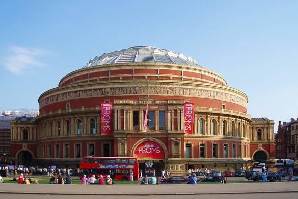 Photographie du Royal Albert Hall à Londres