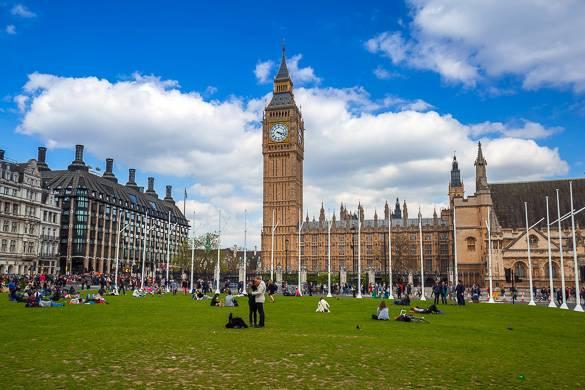 Photographie de Big Ben dans le quartier de Westminster à Londres
