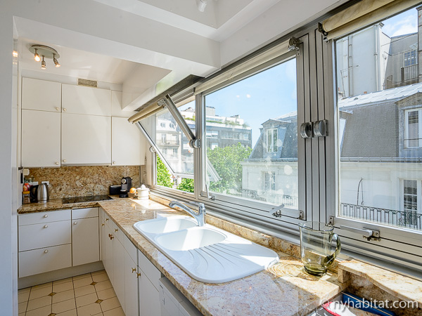 Photo de la cuisine de l'appartement PA-3154.