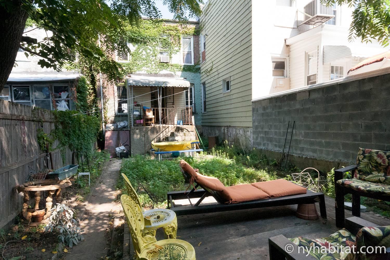 Photo de la cour de l'appartement NY-16268.