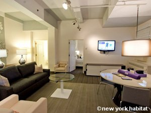 An example of our corporate housing options in New York - Apartment reference NY-14526