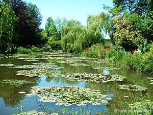 In visita allo splendido giardino di Monet a Giverny