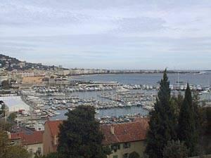Il porto di Cannes