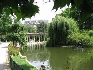 Parigi, il Parc Monceau