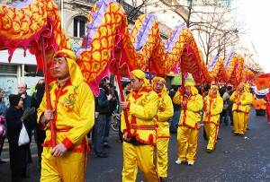 Il capodanno cinese a Parigi