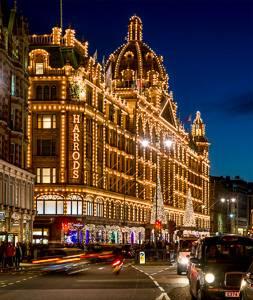 Immagine del negozio Harrods di Londra