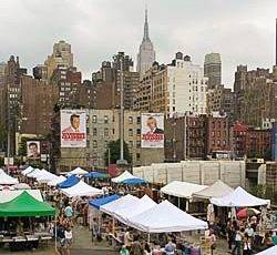 Foto del Flea Market a hell's kitchen, New York City