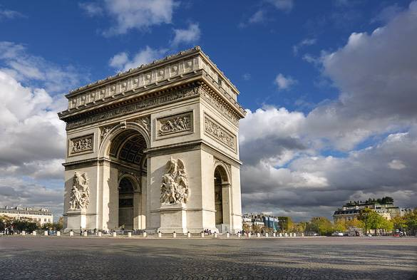 Immagine dell'Arco di Trionfo, Parigi