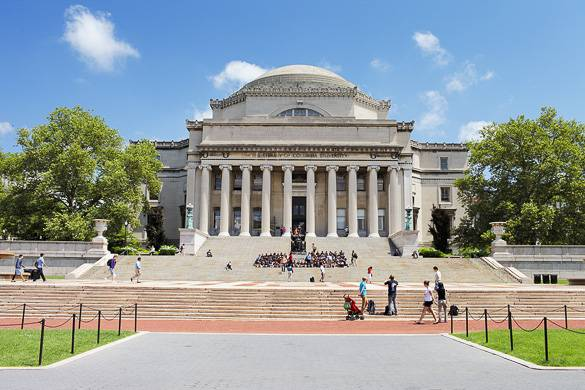 Foto della Columbia University ad Upper Manhattan