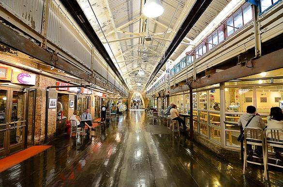 Picture of the Chelsea Market in Manhattan