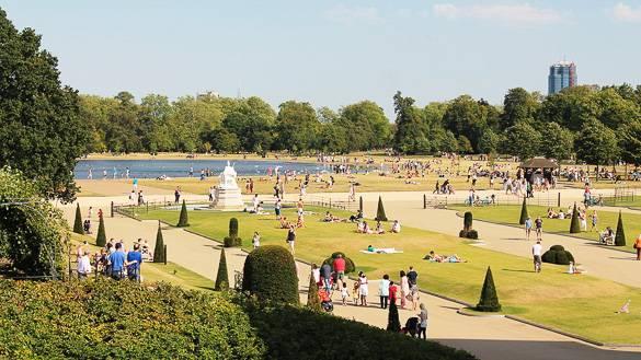 Immagine di Hyde Park a Londra