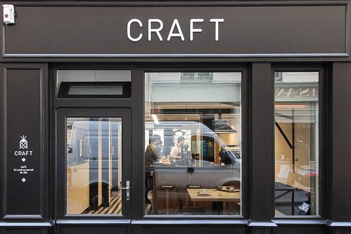 Immagine del parigino Café Craft vicino al Canal St-Martin