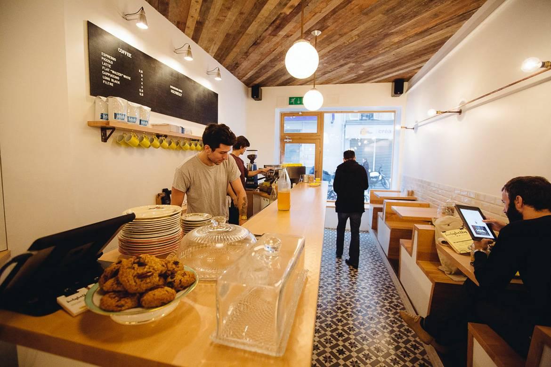 Immagine dell'Holybelly, un ottimo café a Parigi