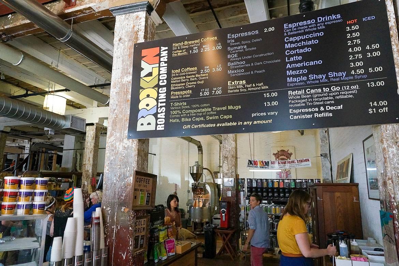 Immagine del Brooklyn Roasting Company a New York. Foto: Kristina D.C. Hoeppner.