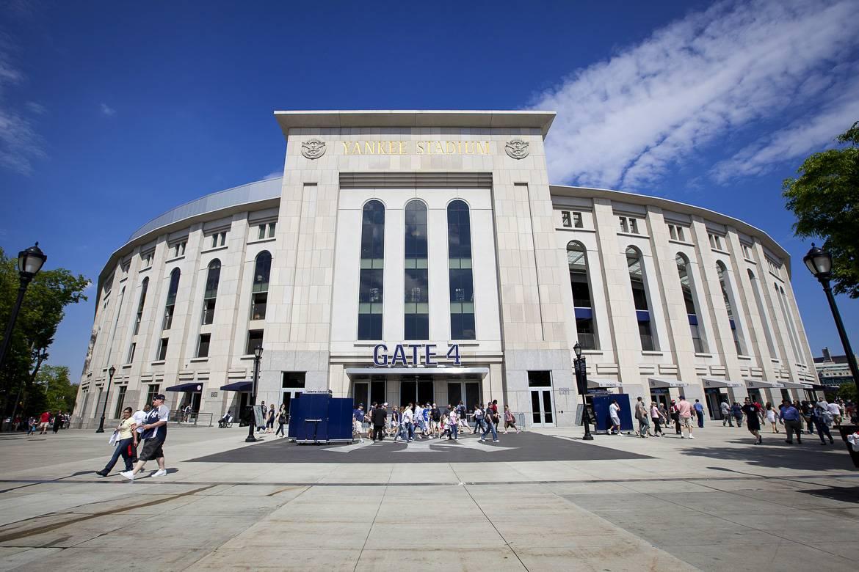 Scorcio dello Yankee Stadium nel Bronx