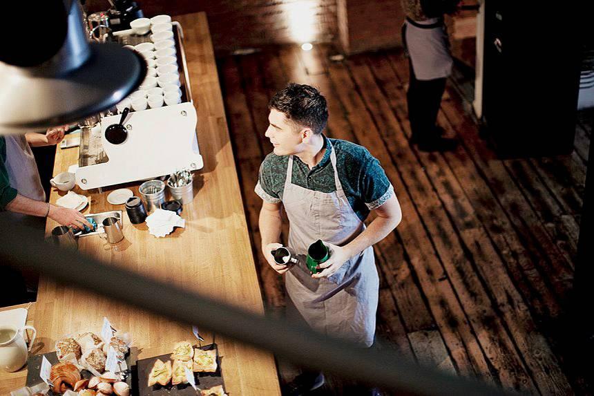 Foto del Workshop Coffee di Londra