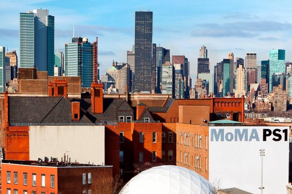 Foto del Museo PS1 del MoMA nel Queens