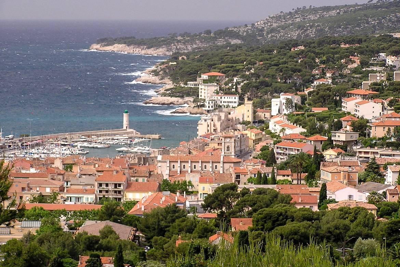 Immagine di un appartamento di Cassis con vista sul Mediterraneo