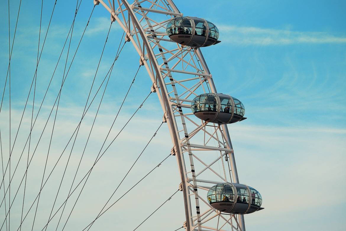 Immagine del London Eye.