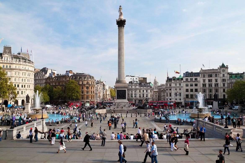 Immagine di Trafalgar Square.