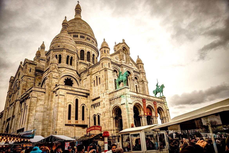 I mercatini di natale a Place des Abbesses