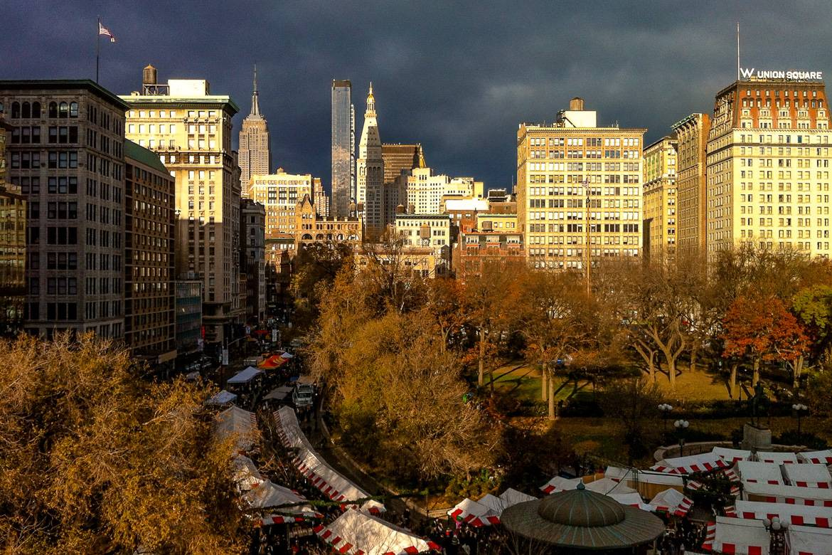 Immagine dell'Union Square Christmas Market