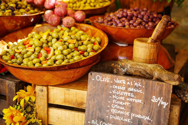 Foto delle olive