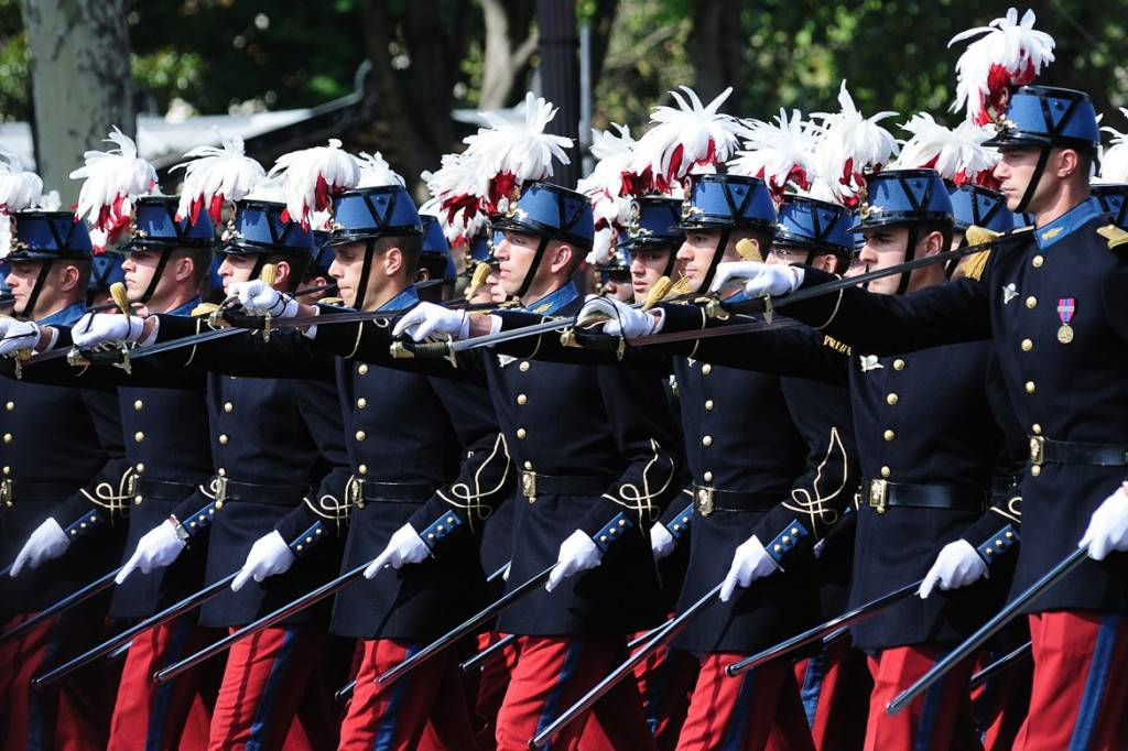 Immagine della parata militare