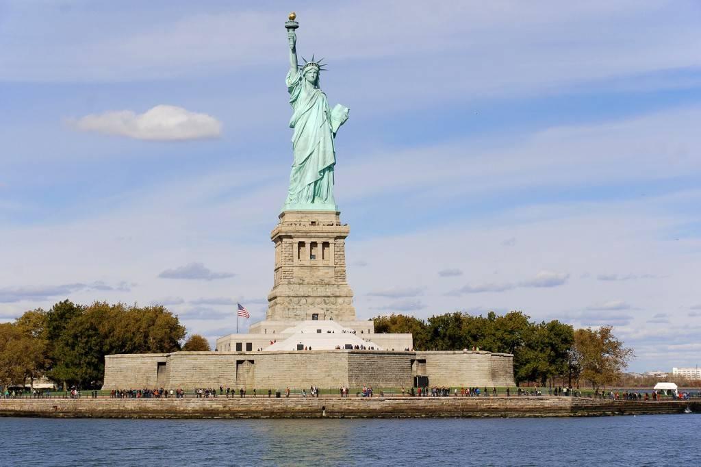 Foto della Statua della Libertà