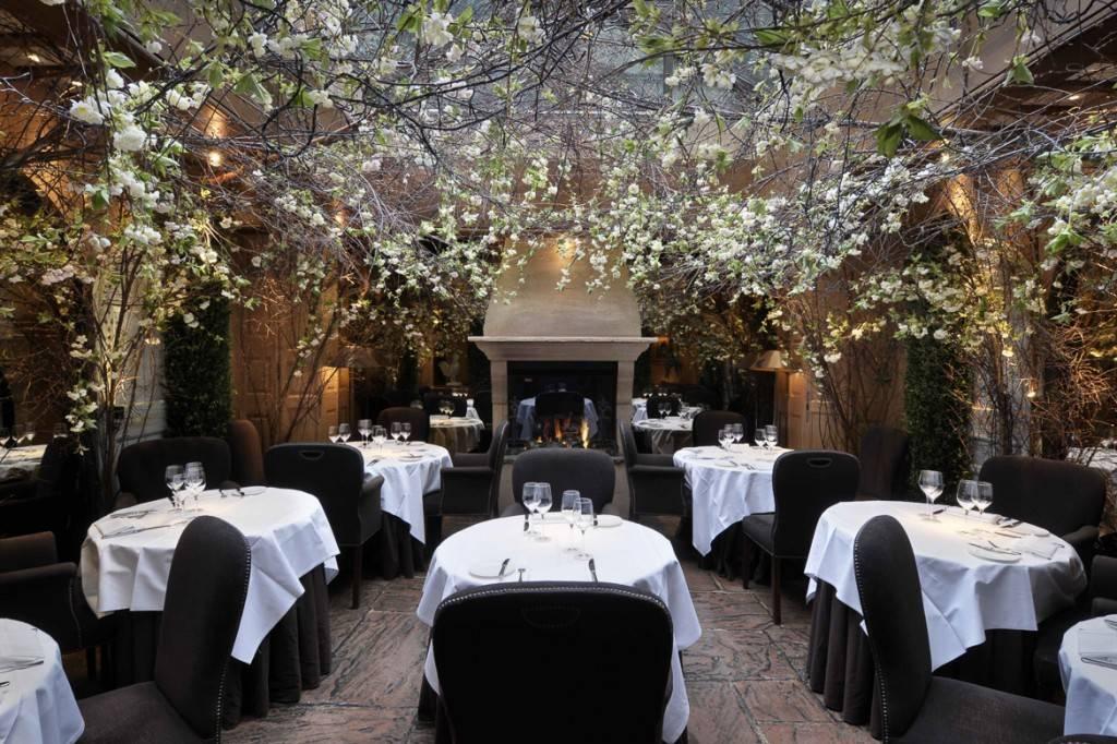 Il ristorante Clos Maggiore