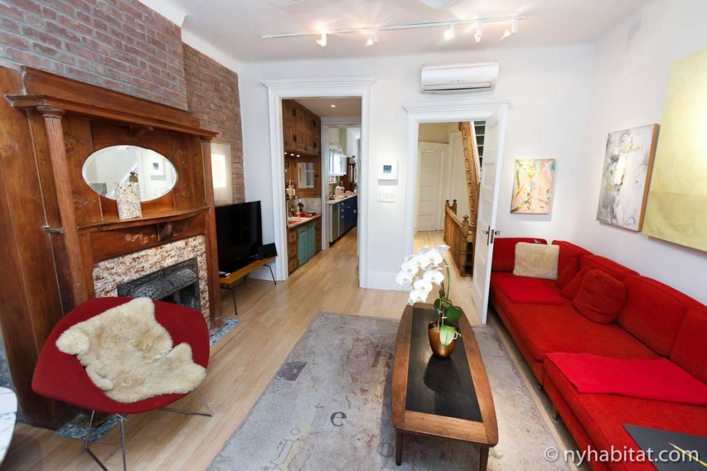 Immagine del soggiorno #. 1 dell'appartamento NY-12274