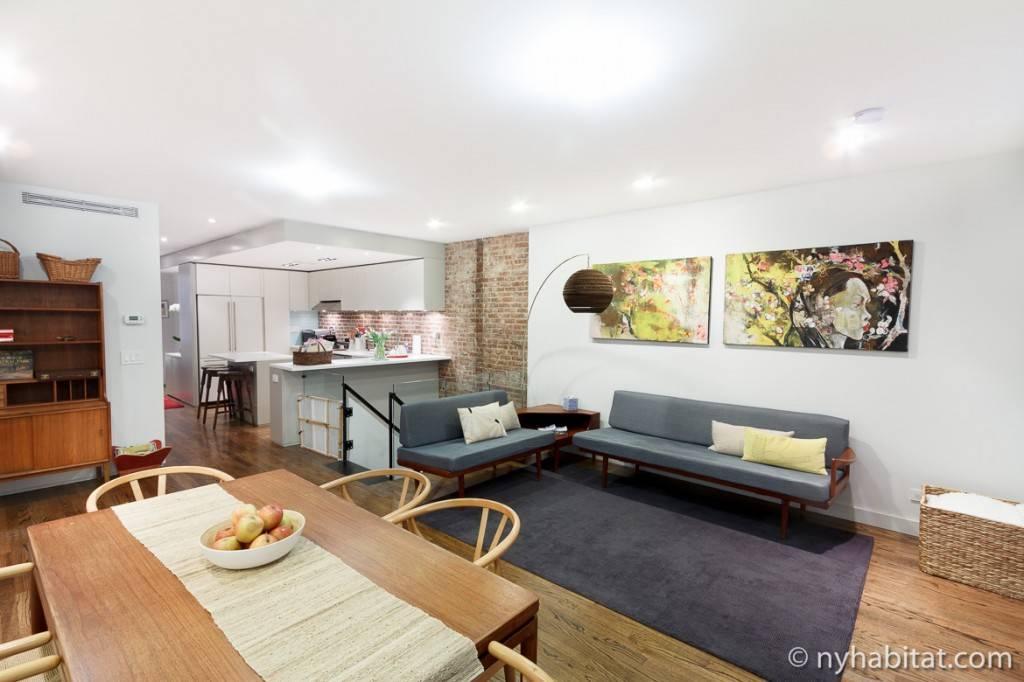 Immagine del soggiorno #. 1 dell'appartamento NY-15650