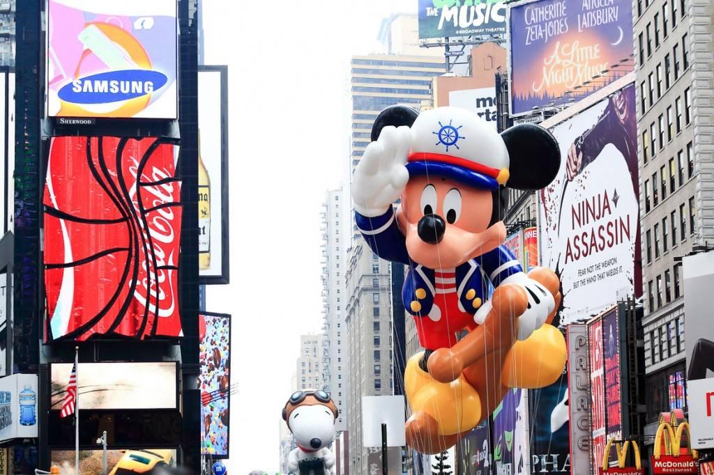 Immagine della Parata del Giorno del Ringraziamento di Macy's