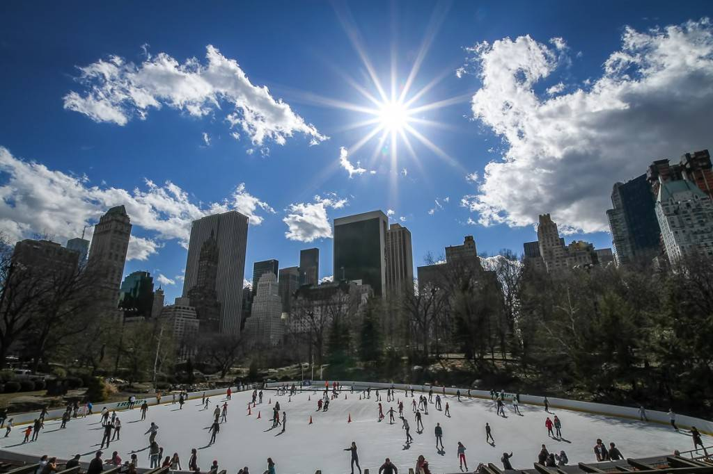 Immagine del Wollman Rink a Central Park