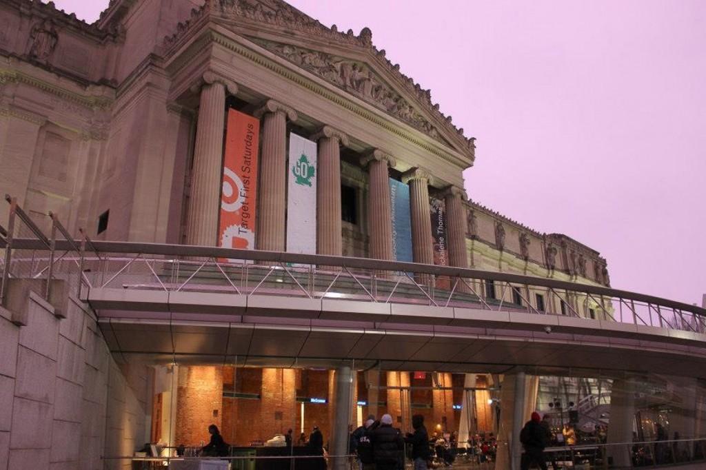 Immagine dell'esterno del Brooklyn Museum