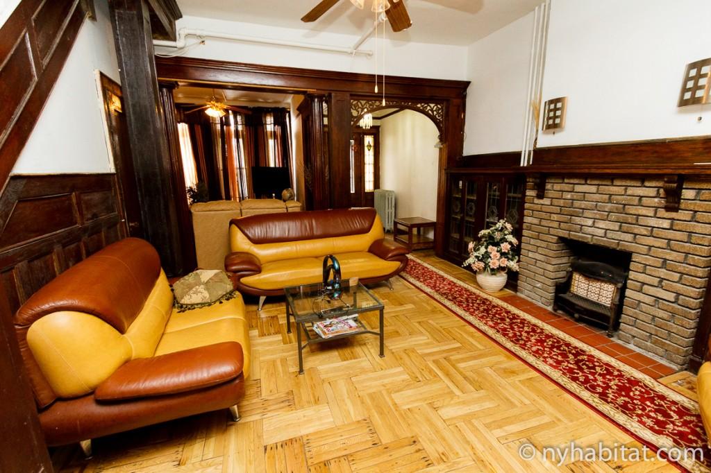 Immagine del salotto dell'appartamento NY- 16437
